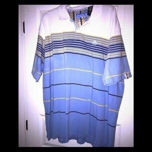 ENYCE Big Man's Striped Polo